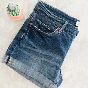 H&M Denim Shorts LOGG Quality Denim 28 Mini Cuff